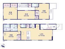 さいたま市緑区東浦和3丁目 全2棟 1号棟【E-0456108】のサムネイル