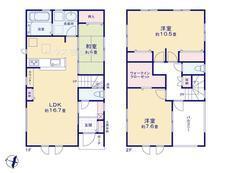 さいたま市緑区三室 北浦和第2期 2号棟 【E-0401032】のサムネイル