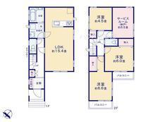 さいたま市緑区宮本1丁目 全5棟 C号棟【E-0427215】のサムネイル