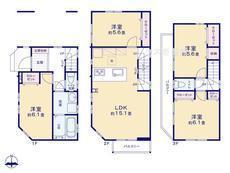 さいたま市 緑区原山4丁目 全4棟 3号棟【E-0469151】のサムネイル