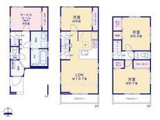 さいたま市 緑区原山4丁目 全4棟 4号棟【E-0469152】のサムネイル