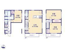 さいたま市緑区原山3丁目  全3棟 3号棟【E-0462565】のサムネイル
