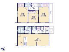 さいたま市緑区大門 第14 全9棟 6号棟【D-0468501】のサムネイル