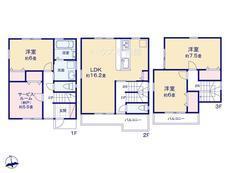 さいたま市第1緑区原山 全4棟 1号棟【E-0384516】のサムネイル