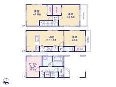 さいたま市緑区原山3丁目  全3棟 1号棟【E-0462563】のサムネイル