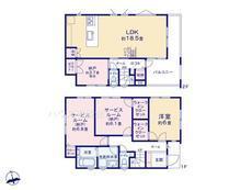 さいたま市緑区三室第11期2棟 2号棟【E-0473308】のサムネイル