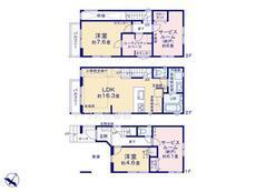 さいたま市緑区東浦和2丁目 全16棟 B号棟【E-0481414】のサムネイル