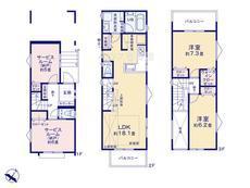 さいたま市緑区東浦和2丁目 全16棟 L号棟【B-0481426】のサムネイル