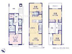 さいたま市緑区東浦和2丁目 全16棟 E号棟【D-0481417】のサムネイル