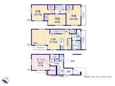さいたま市緑区東浦和2丁目 全16棟 P号棟【E-0481430】のサムネイル