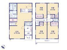 さいたま市緑区松木3丁目 全8棟 7号棟 【A-0495252】のサムネイル