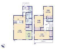 さいたま市緑区松木3丁目 全8棟 2号棟 【A-0495247】のサムネイル