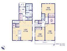 さいたま市緑区松木3丁目 全8棟 4号棟 【E-0495249】のサムネイル