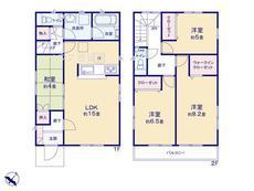 さいたま市緑区松木3丁目 全8棟 6号棟 【A-0495251】のサムネイル