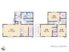 さいたま市緑区三室 全7棟 1号棟【A-0438107】のサムネイル