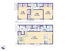 さいたま市緑区三室 全7棟 3号棟【A-0438109】のサムネイル