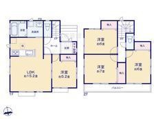 さいたま市緑区三室2期 全18棟 3-E号棟【B-0502765】のサムネイル
