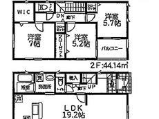 川口市東川口第4 全11棟 8号棟【E-24172-8】のサムネイル