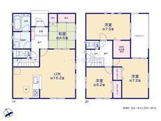さいたま市緑区山崎1丁目 全6棟 5棟【E-0510454】のサムネイル