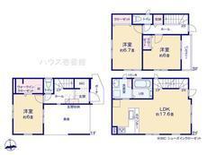 川口市飯塚4期  全5棟 3号棟【B-0516231】のサムネイル