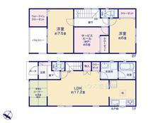 さいたま市緑区原山1丁目 全6棟 4号棟【E-0513588】のサムネイル