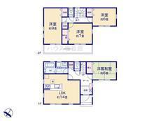 さいたま市緑区芝原3丁目 全7棟 4号棟【D-0513886】のサムネイル
