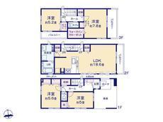 川口市飯塚4期  全5棟 5号棟【B-0516233】のサムネイル