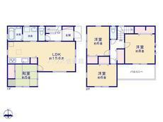 さいたま市緑区大字三室 全1棟 1号棟【A-0515867】のサムネイル