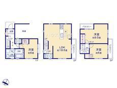 さいたま市緑区太田窪3丁目 全1棟 1号棟【E-0520615】のサムネイル