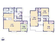 さいたま市緑区松木3丁目 全8棟 1号棟 【A-0524586】のサムネイル